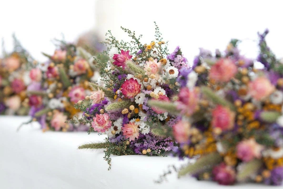 Our FIELD FLOWER Bridesmaid Dried Flower Bouquet For A
