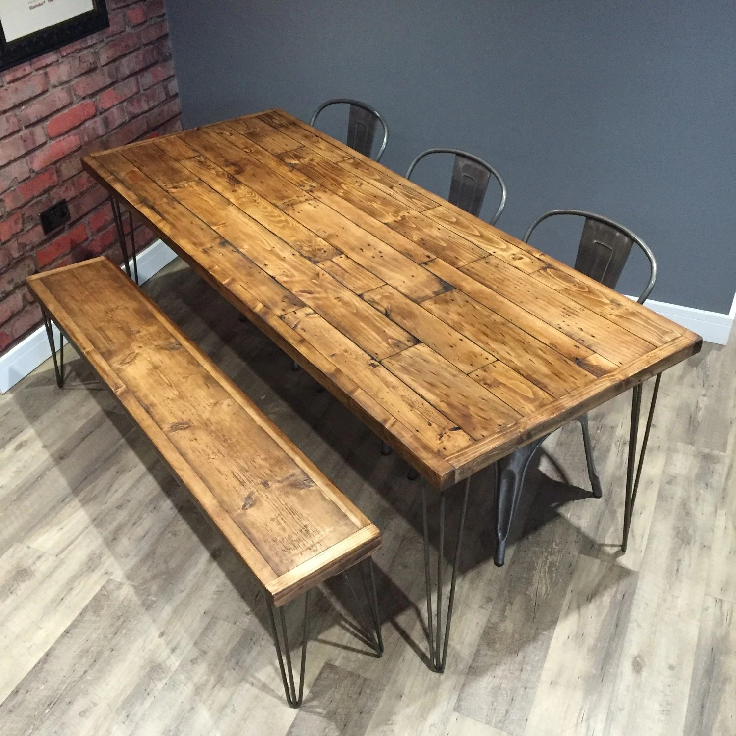 pallet sofa table for sale buy sofas online ebay reclaimed industrial wood dining with metal