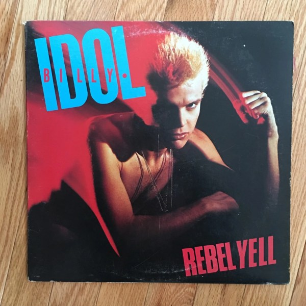 1983 Billy Idol 'rebel Yell' Vintage Vinyl