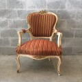 French chair antique louis xvi fauteuil amrchair bench table original