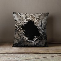 Unique Pillows The Sinkhole Cool Pillows by wfrancisdesign