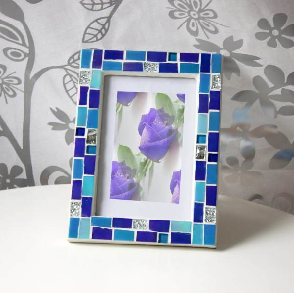 Blue 4X6 Paper Picture Frames