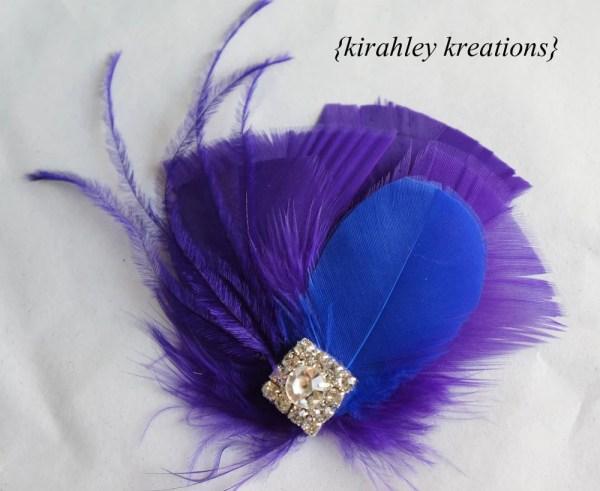 Cobalt Blue and Purple Wedding. Cobalt Blue and Purple Wedding. Royal Blue  Hair Clip ... 3f417a3e54d3