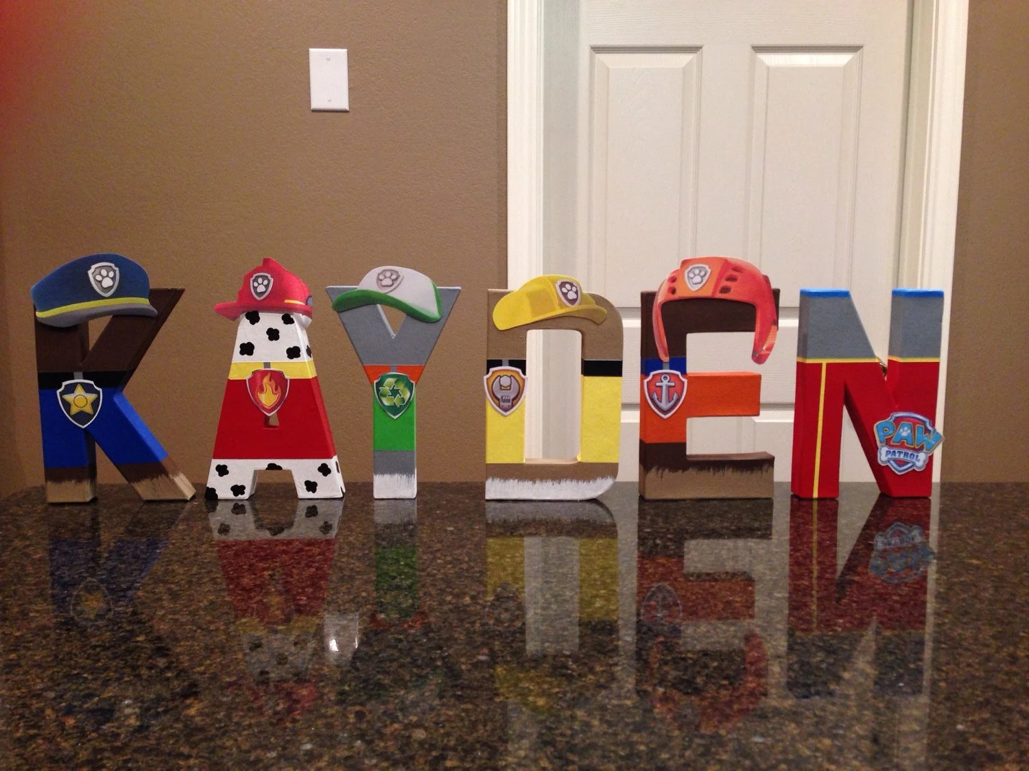 Paw Patrol Custom Name Letters Price Is Per Letter
