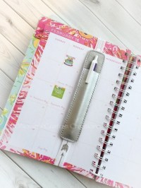 Planner Pen Holder Planner Band Planner Pens Planner