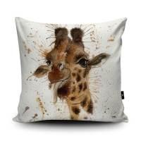 Giraffe Cushion Giraffe Pillow Giraffe Cushion Cover