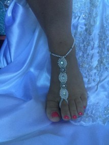 Barefoot Wedding Sandals Onthebeachbrides