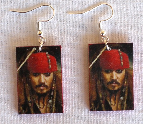 Johnny Depp Jack Sparrow Earrings