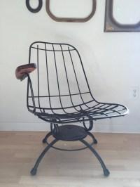 Vintage Eames Era Homecrest Swivel/Rocker Rocking Chair