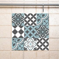 Mix Tile Wall Decals 310 decorative tiles vinyl by videcor ...