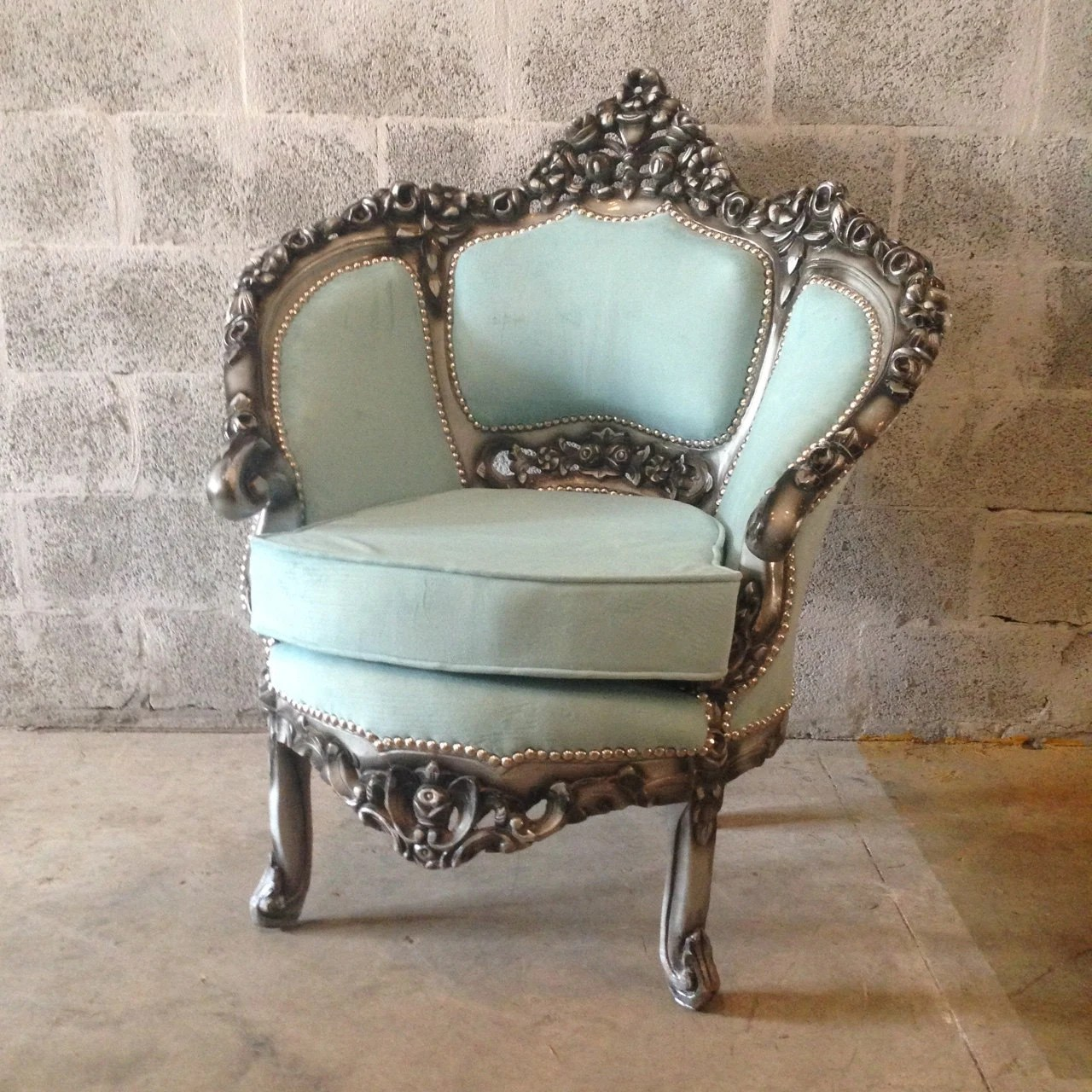 old blue chair ikea high cover antique italian venetian 1 available bergere