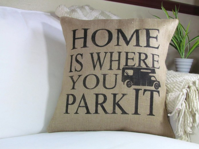 Image result for home is where you park it