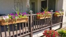 Deck Rail Planter Boxes Trend