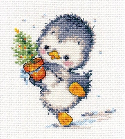 A Brand New Counted Cross Stitch Kit Ready For