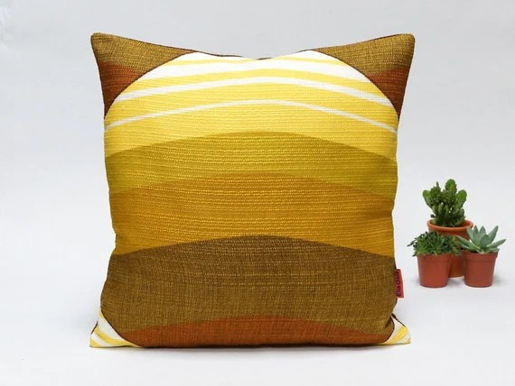 Mid Century Modern Retro pillow cover 40x40  16x16