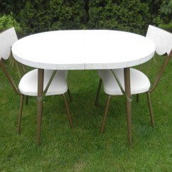 Formica Table And Chairs Bungee Office Chair Canada Kitchen Set Dinette By