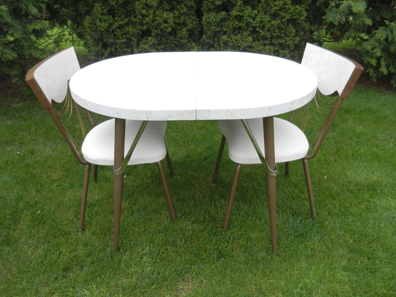 Formica Table And Chairs Formica Kitchen Table And Chairs Set Dinette Set By