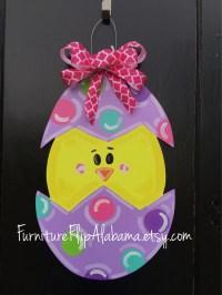 Easter door decorations   Etsy