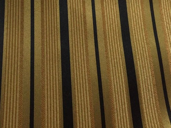 black kitchen curtains and valances stainless island stripe copper gold upholstery fabric by the yard