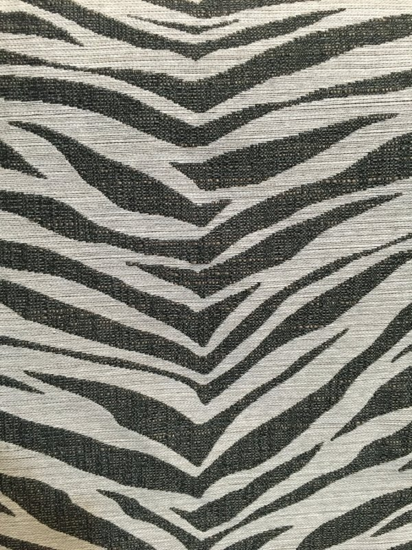 Zebra Upholstery Fabric by the Yard