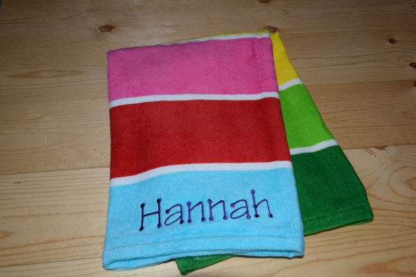 Kids Personalized Beach Towel Custom