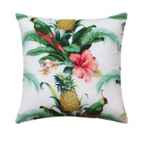 Tropical Outdoor Pillow Cover Hawaiian Decor Pineapple