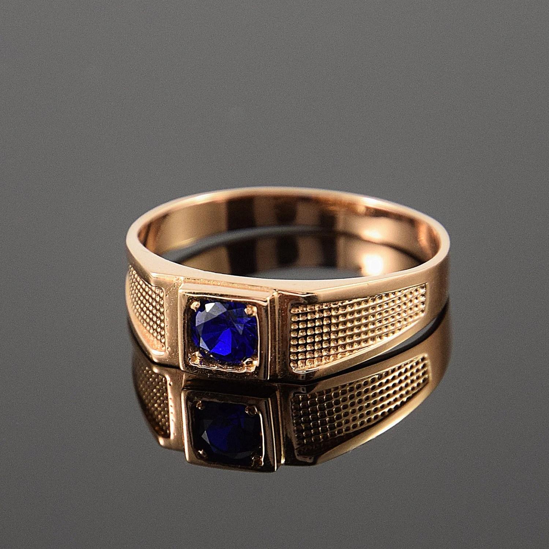 Gold signet ring Men signet ring Men gold ring Simple men