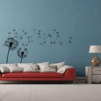 Dandelion Wall Decal Dandelion Wall Art Dandelion by HomyVinyl