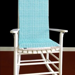 Rocking Chair Cushion Covers Kids Table And Chairs Nz Cover Modern Meadow Herringbone Pond