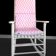 Baby Blue Chair Covers Canadian Tire Candy Pink Chevron Rocking Cushion