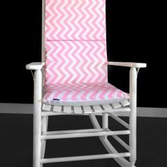 Pink Toddler Rocking Chair Swing Menards Candy Chevron Cushion