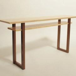 Long Sofa Bar Table Home Decorators Contemporary Low Console Narrow Mid