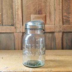 Decorative Glass Jars For Kitchen Soap Dispenser Pump Vintage Mason Jar Foster Sealfast