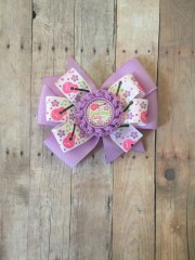 country girl double pinwheel bow