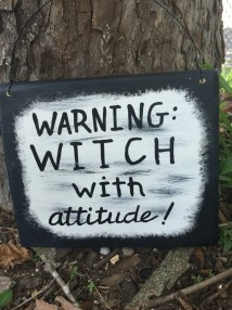 d0d7b3fa Halloween Witch Sign Funny Decorations Sayings