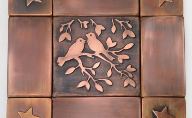 Decorative Tiles Copper Tile Metal Tiles Set Copper Tiles