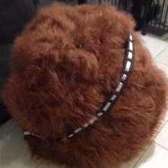 Star Wars Bean Bag Chair Gym Reviews Bagchewbacca Faux Fur By Curvaciousyouclaire