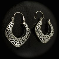 Sterling Silver Earrings for Repair Scrap Silver Make