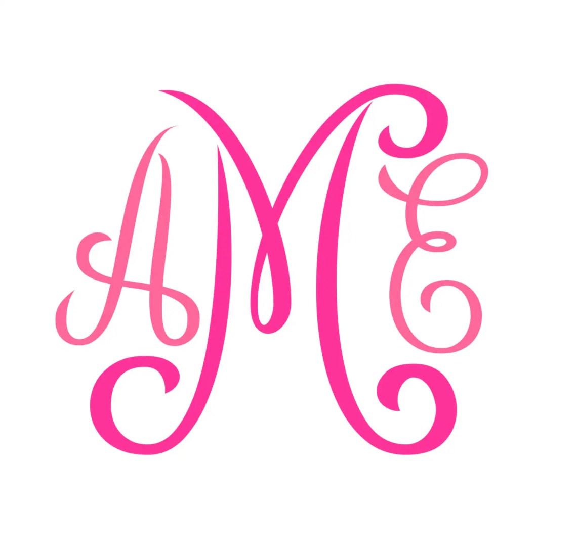 Download Monogram SVG Font No. 01