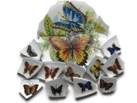 Butterfly Tiles Mosaic Tiles 20 Piece Butterfly Jewelry