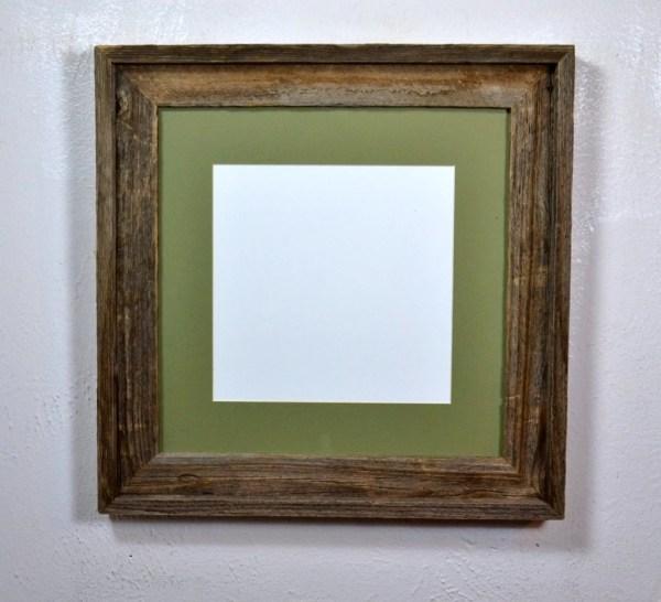 10x10 8x8 Mat In 12x12 Reclaimed Wood Frame