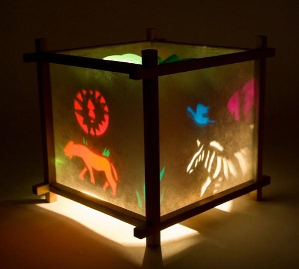 Spinning Paper Lantern Night Light Kids