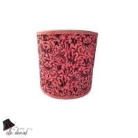 Pink/Black Drum Lamp Shade: Drum Lamp Shades Pink Lamp