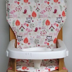 Eddie Bauer High Chairs Table And Chair Set For 8 Year Old Cover Baby Accessory Wooden