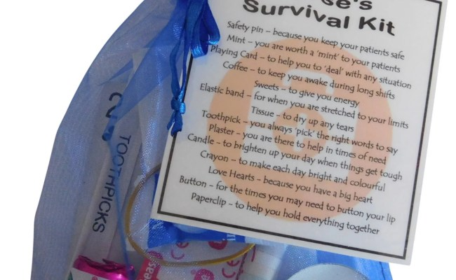 Nurse S Survival Kit Great Gift For Nurse Gift By Smilegiftsuk