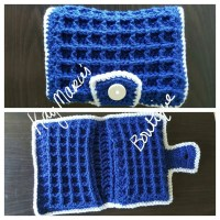 Diaper and Wipes Case Waffle Stitch Diaper by ...