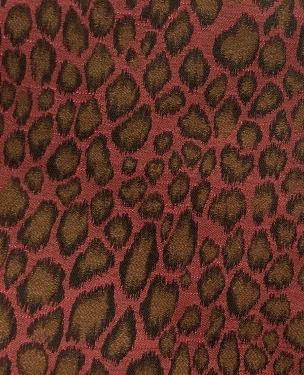 Pink Animal Print Upholstery Fabric
