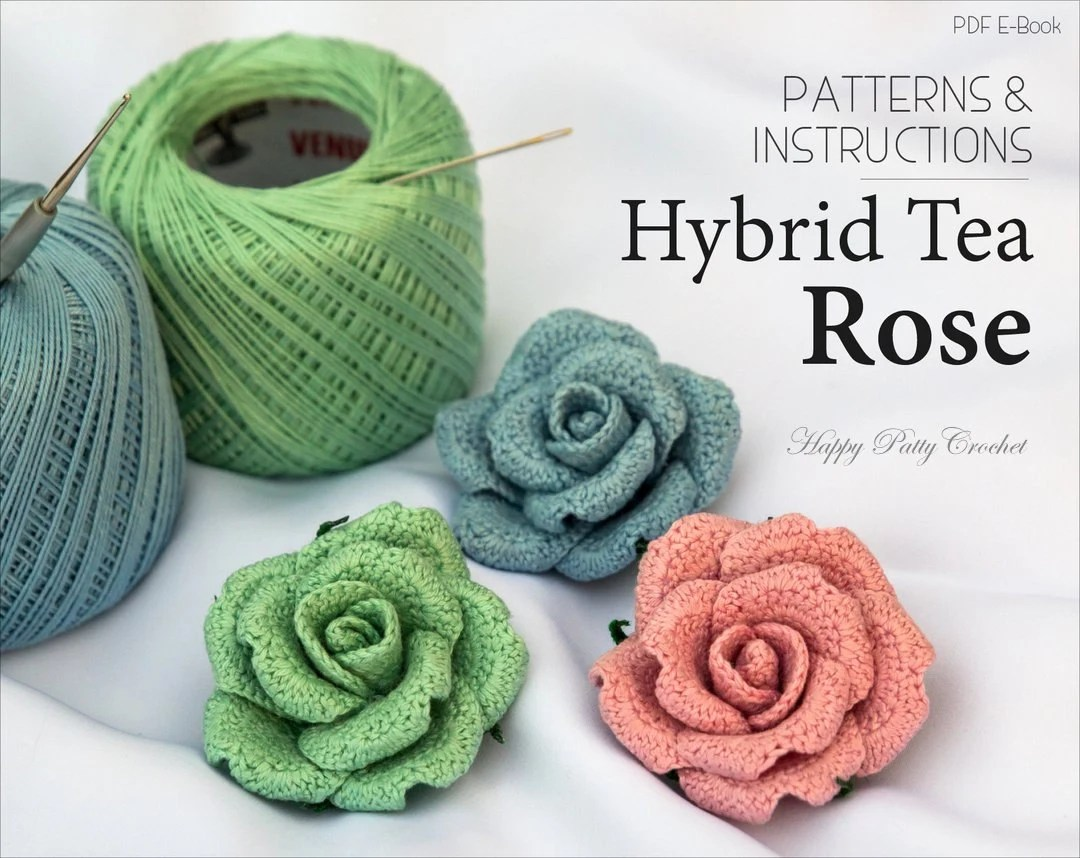 free leaf crochet pattern diagram yamaha r6 wiring flower rose