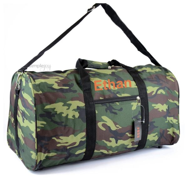 Camouflage Duffle Bag Mossy Oak Plain Shopsimplejoy