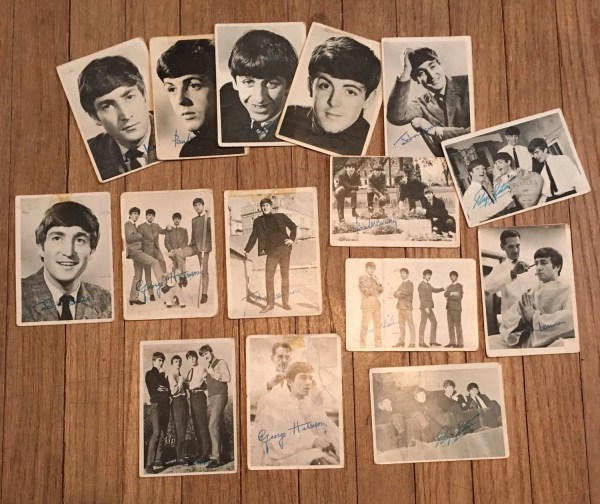 Beatles Trading Cards Set Of 15 Original